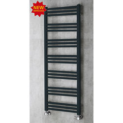 COLOUR Heated Ladder Rail & Wall Brackets 1374x500 (Anthracite Grey).