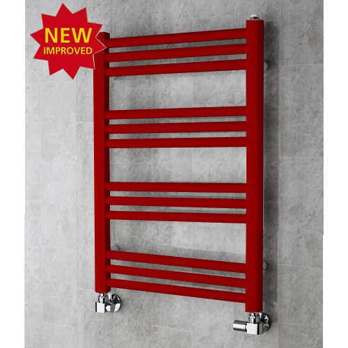 COLOUR Heated Ladder Rail & Wall Brackets 759x500 (Ruby Red).