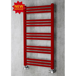 COLOUR Heated Ladder Rail & Wall Brackets 964x500 (Ruby Red).