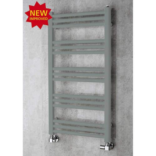 COLOUR Heated Ladder Rail & Wall Brackets 964x500 (Traffic Grey A).