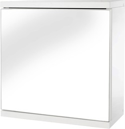 Croydex Cabinets Mirror Bathroom Cabinet.  350x300x140mm.
