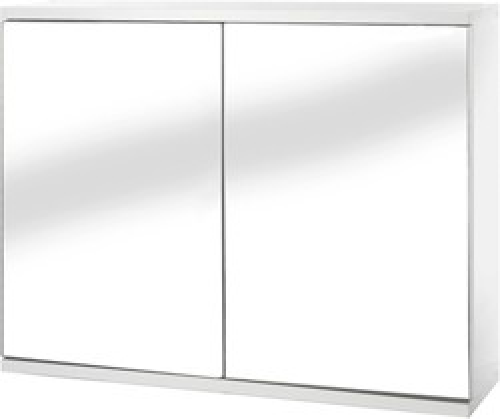 Croydex Cabinets Mirror Bathroom Cabinet With 2 Doors.  600x450x140mm.
