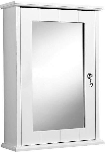 Croydex Cabinets Ribble Mirror Bathroom Cabinet.  370x520x130mm.