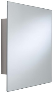 Croydex Cabinets Dart Square Mirror Bathroom Cabinet. 450x450x110mm.