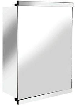 Croydex Cabinets Tara Mirror Bathroom Cabinet With Sliding Door. 350x500.