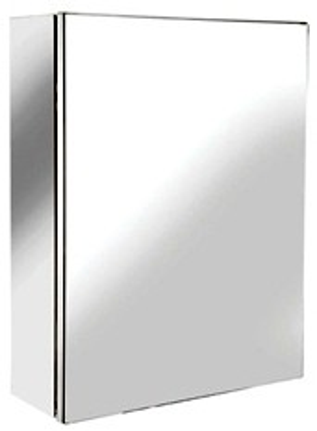 Croydex Cabinets Avon Small Mirror Bathroom Cabinet.  300x400x120mm.