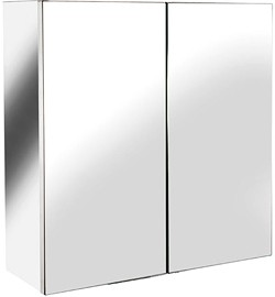 Croydex Cabinets Avon Small Mirror Bathroom Cabinet.  430x440x160mm.