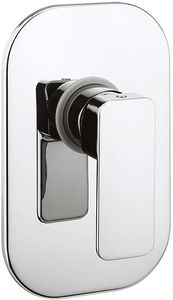 Crosswater Atoll Manual Shower Valve With Lever Handle (Chrome).