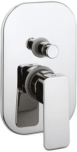Crosswater Atoll Manual Shower Valve With Diverter (Chrome).