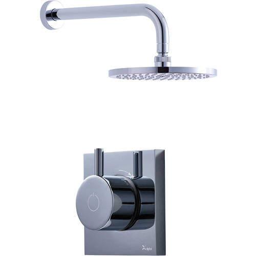 Crosswater Kai Digital Showers Digital Shower With Head & Arm (LP).