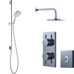 Crosswater Kai Digital Showers Digital Shower Pack 04 With Remote (LP).