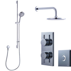 Crosswater Kai Digital Showers Digital Shower Pack 05 With Remote (LP).