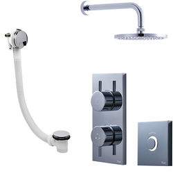 Crosswater Kai Digital Showers Digital Shower Pack 07 With Remote (LP).
