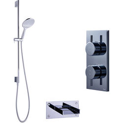 Crosswater Kai Digital Showers Digital Shower With Bath Spout & Kit (LP)