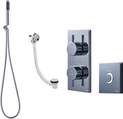 Crosswater Kai Digital Showers Digital Shower Pack 10 With Remote (LP).