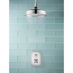 Crosswater Dial Belgravia Thermostatic Shower Valve With Head & Arm (1 Outlet).