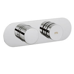 Crosswater Dial Central Push Button Thermostatic Shower Valve (1 Outlet).