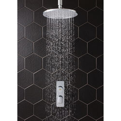Crosswater Dial Pier Thermostatic Shower Valve With Head & Arm (1 Outlet).