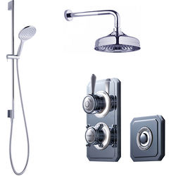 Crosswater Belgravia Digital Digital Shower Valve Pack 21 (L-Head, HP).