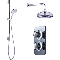 Crosswater Belgravia Digital Digital Shower Valve Pack 9 (X-Head, HP).