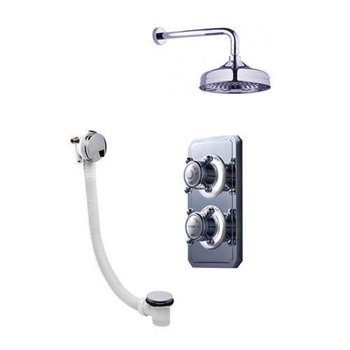 Crosswater Belgravia Digital Digital Shower Valve Pack 31 (X-Head, HP).