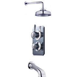 Crosswater Belgravia Digital Digital Shower Valve Pack 15 (L-Head, HP).
