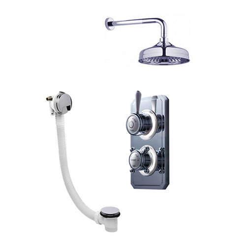 Crosswater Belgravia Digital Digital Shower Valve Pack 27 (L-Head, HP).