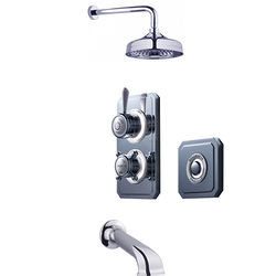 Crosswater Belgravia Digital Digital Shower Valve Pack 23 (L-Head, HP).