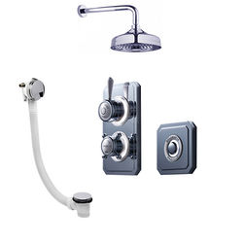 Crosswater Belgravia Digital Digital Shower Valve Pack 25 (L-Head, HP).