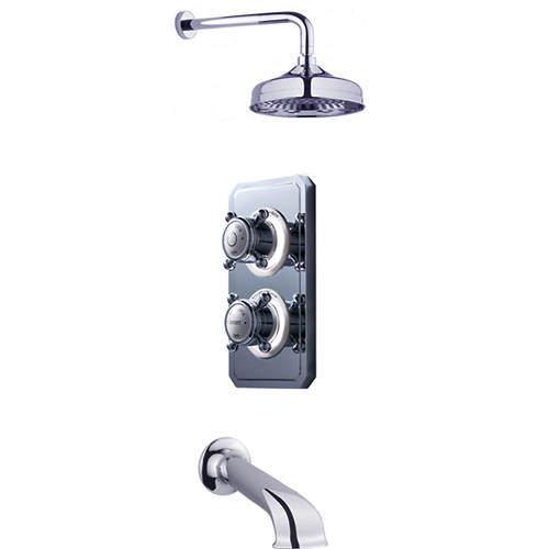 Crosswater Belgravia Digital Digital Shower Valve Pack 11 (X-Head, HP).