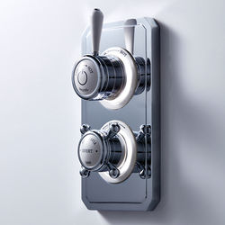Crosswater Belgravia Digital Dual Digital Shower & Bath Valve (L-Head, LP).