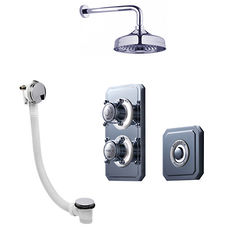 Crosswater Belgravia Digital Digital Shower Valve Pack 30 (X-Head, LP).