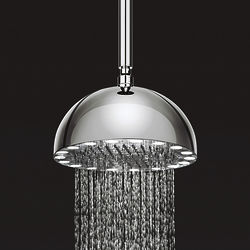 Crosswater Illuminated Dynamo Round Shower Head & LED Lights (300mm).