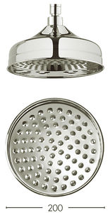 Crosswater Belgravia 200mm Round Shower Head (Nickel).