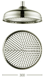 Crosswater Belgravia 300mm Round Shower Head (Nickel).