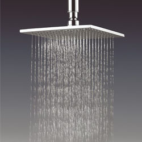 Crosswater Zion Square Shower Head 200x200mm (Chrome).