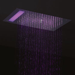 Crosswater Illuminated Revive Mini Shower Head & LED Lights (300x200mm).
