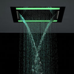 Crosswater Illuminated Rio Revive Shower Head & LED Lights (600x400mm).