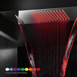Crosswater Illuminated Multifunction Shower Head With LEDs 380x700mm.