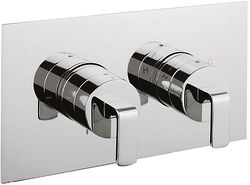 Crosswater KH Zero 1 Thermostatic Shower Valve With Diverter (2 Outlets).