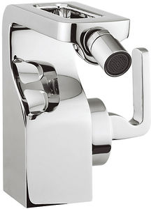 Crosswater KH Zero 1 Bidet Mixer Tap With Lever Handle & Waste (Chrome).