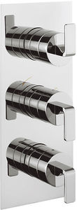 Crosswater KH Zero 1 Thermostatic Shower Valve With Diverter (3 Outlets).