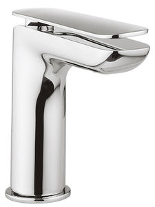 Crosswater KH Zero 2 Mini Basin Mixer Tap With Lever Handle (Chrome).