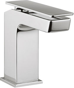 Crosswater KH Zero 3 Mini Basin Mixer Tap With Lever Handle (Chrome).