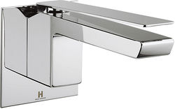 Crosswater KH Zero 3 Wall Mounted Basin Mixer Tap With Lever Handle.