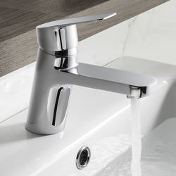 Crosswater KH Zero 6 Basin Mixer Tap With Lever Handle (Chrome).