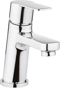 Crosswater KH Zero 6 Mini Basin Mixer Tap With Lever Handle (Chrome).