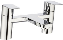 Crosswater KH Zero 6 Bath Filler Tap With Lever Handles (Chrome).