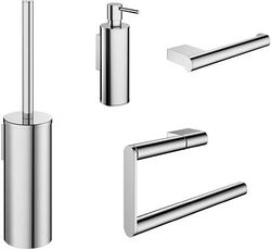 Crosswater Mike Pro Wall Mounted Bathroom Accessories Set (Pack A2).