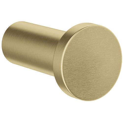 Crosswater MPRO Robe Hook (Brushed Brass).